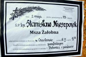 Pogrzeb ks. proboszcza Stanisława Nieszporek  8.05.2019